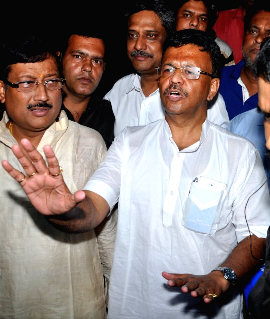West Bengal Urban Development Minister Firhad Hakim appears before the Enforcement Directorate (ED) in connection with Narada scam in Kolkata on Aug 9, 2017. - Firhad Hakim