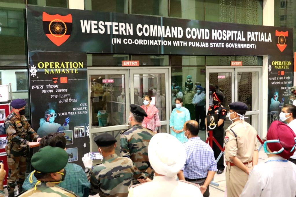Western Command Covid Hospital opens in Patiala