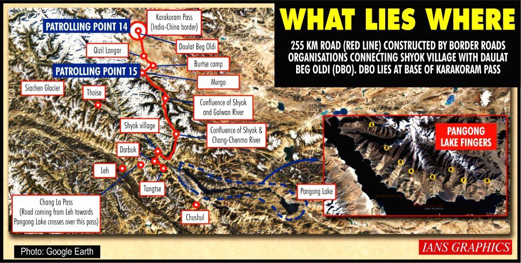 What lies where. (IANS Infographics)
