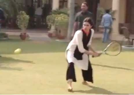 When Deepika and Irrfan played tennis.