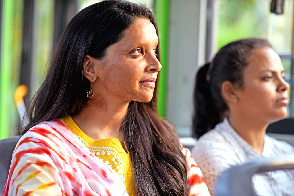 """When Deepika Padukone unveiled her look in """"Chhapaak"""", based on the life of an acid attack survivor Laxmi Agarwal, people saw the beautiful actress' decision to do the film as """"gutsy"""", """"brave"""" and """"life altering"""". Deepika, who has also turned a produ - When Deepika Padukone"""