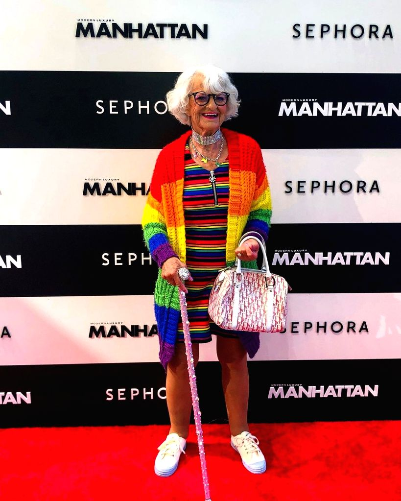 When it comes to fashion, age is just a number.(photo:instagram)