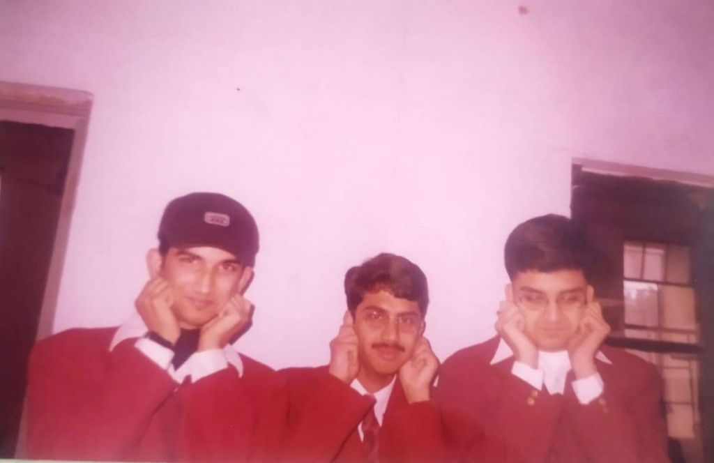 When Sushant was punished on first day of standard eleven.