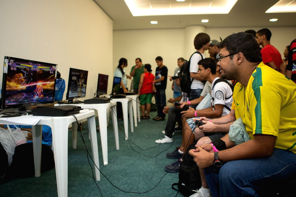 While it's commonly believed that video games are harmful for children, researchers have found that it can help them evaluate, express and manage emotions when used as part of an emotional intelligence training programme. (Xinhua/Xu Zijian)(axy)