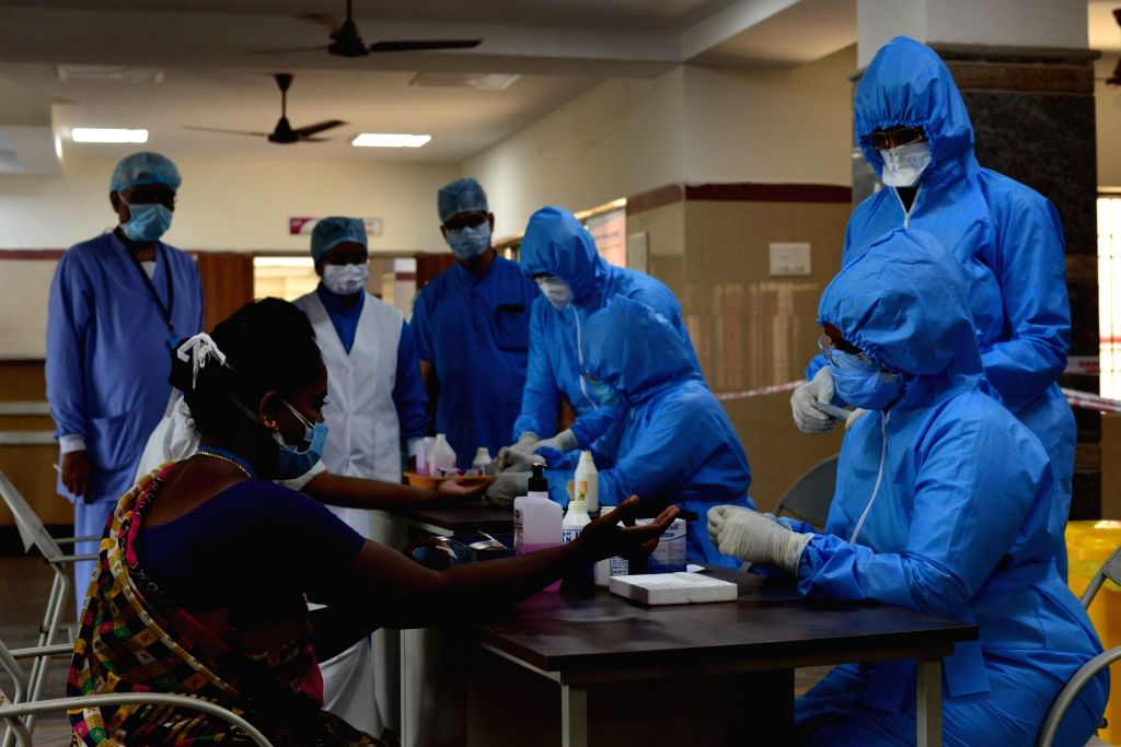 While Russia may be sterilising the medical masks and Covid-19 test kits with a beam of accelerated electrons before they are sent to the labs, industry experts in India are of the view that there are cost effective alternatives. (Photo: IANS)