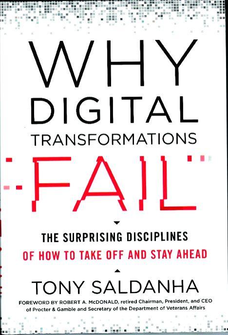 """Why Digital Transformations Fail""."
