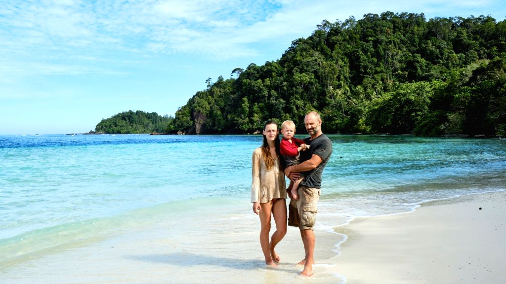 Why Ed Stafford took wife, 20-month-old baby for survival challenge.