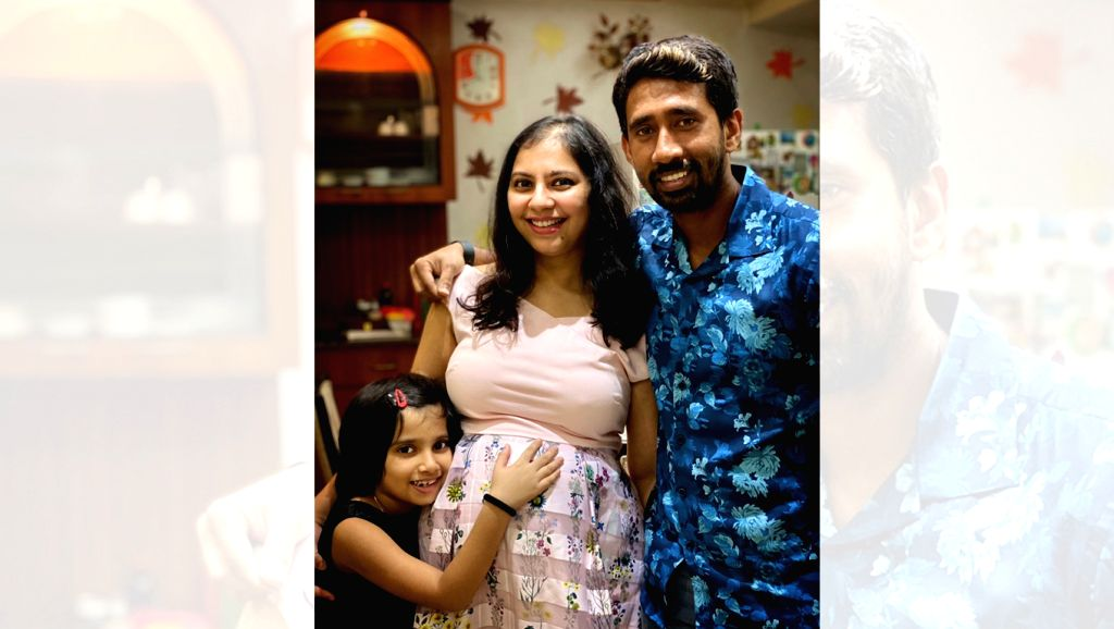 Wicketkeeper Wriddhiman Saha has announced that he and wife Romi Mitra are expecting a second child. Saha made the announcement on Twitter on his 35th birthday on Thursday.