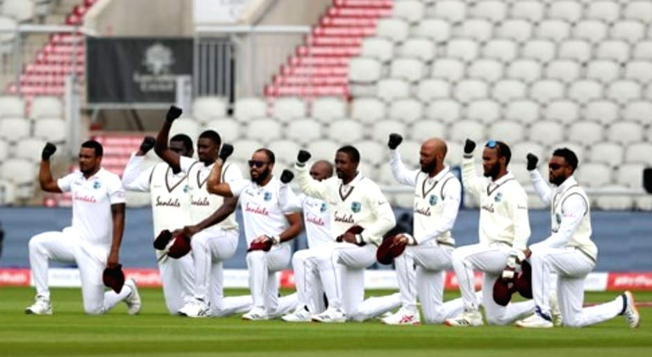 Windies mull adding video collage, message to anti-racism gesture