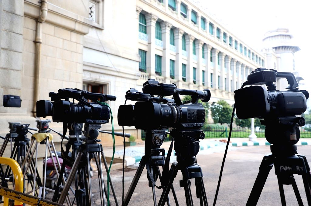 With a couple of city based journalists testing positive for coronavirus, Chennai Press Club has urged the government and politicians to avoid press meets. (Photo: IANS)
