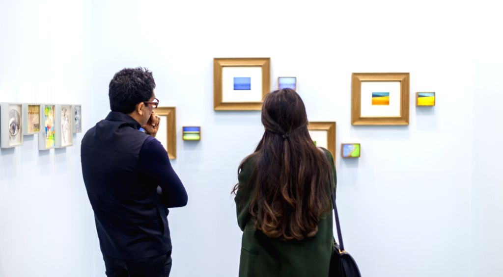 With the 12th edition of one of Indias biggest art events, India Art Fair, opening next Thursday, art lovers in the capital are in for a four-day treat.