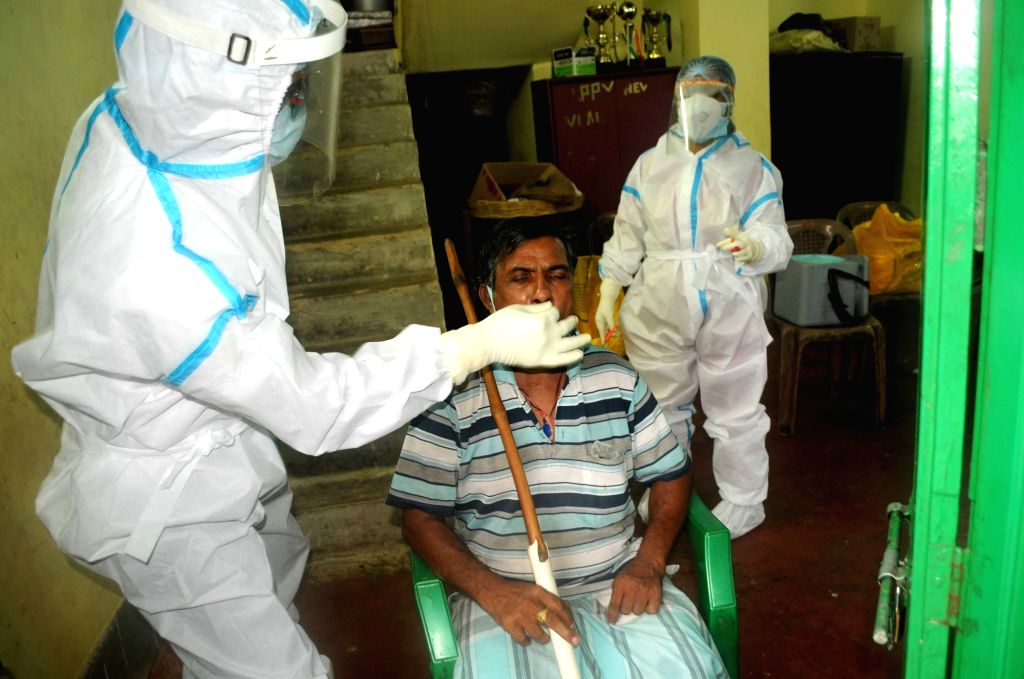 With the rise in Covid-19 cases, the Odisha government has decided to conduct door-to-door surveillance from June 16 to identify persons with coronavirus symptoms, according to an official, here on Monday. (File Photo: IANS)