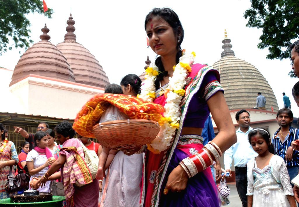 Women in Assam conduct pujas to 'placate Corona Maa'