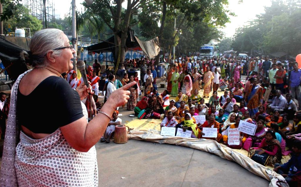 Women participate in a protest march against West Bengal Government to demand for maternity facility in Kolkata on Nov 22, 2016.