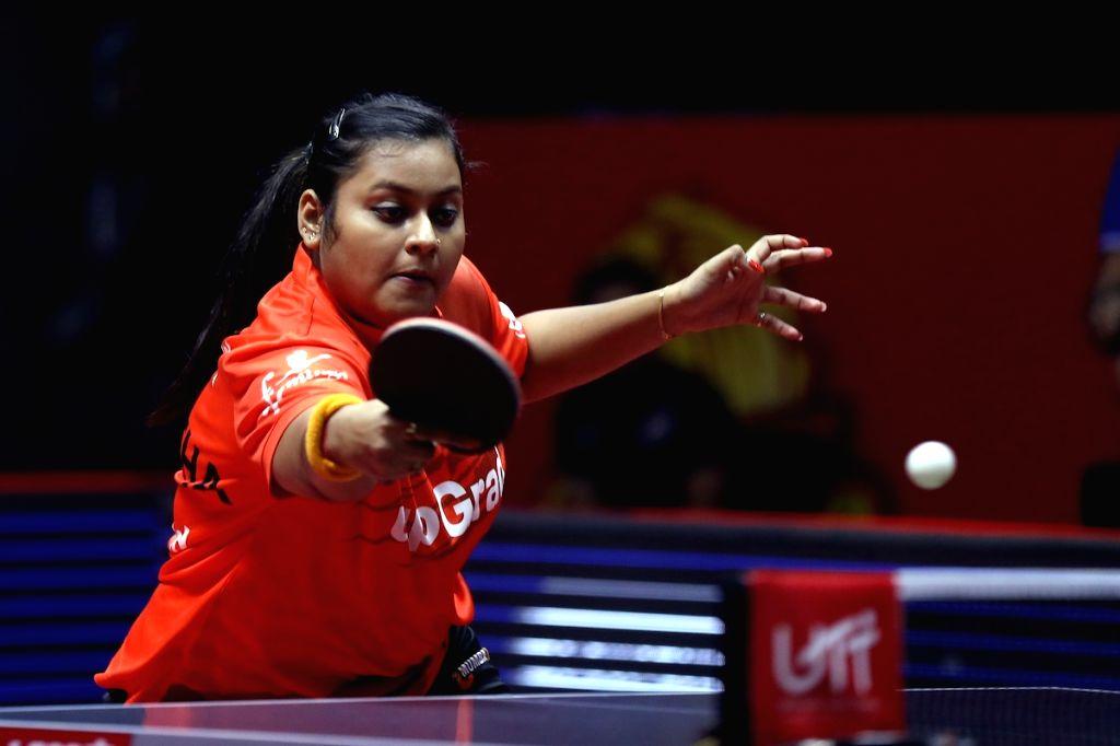 Women's Singles - Suthirtha Mukherjee  bt  Petrissa Solja 2-1 (11-7, 11-10, 5-11) - Suthirtha Mukherjee