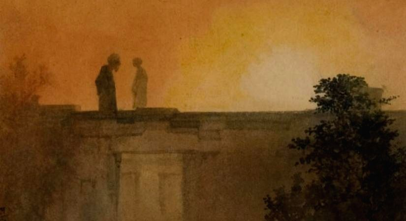 Work by Abanindranath Tagore, Source - NGMA.
