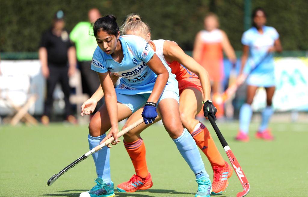 Working hard to get into senior Indian hockey team, says Manpreet Kaur. - Manpreet Kaur