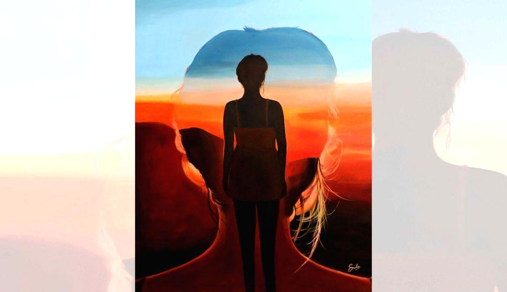 Works by artist Sneha Agarwal. - Sneha Agarwal