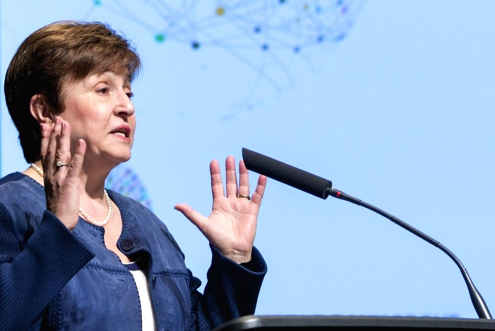World Bank CEO Kristalina Georgieva. (Photo: World Bank/IANS)