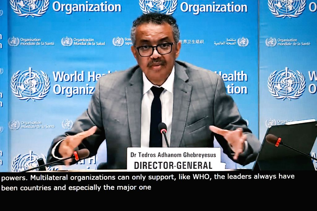 World Health Organization (WHO) Director-General Tedros Adhanom Ghebreyesus. (Xinhua/Zhang Cheng/IANS)