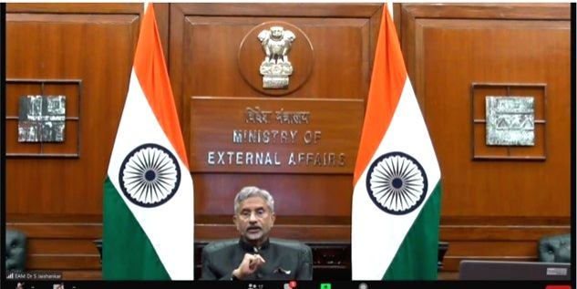 World is counting on India for affordable COVID vaccine, says Jaishankar'.