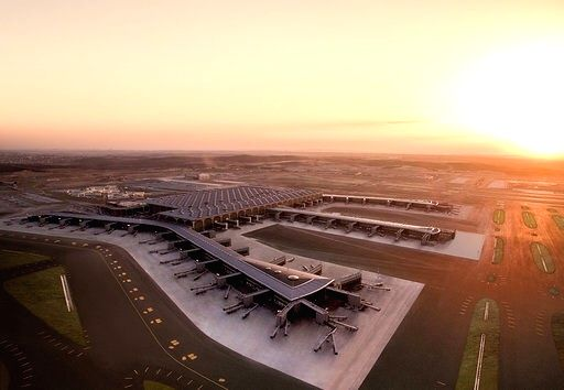 ": World's largest airport ""under one roof "" to open in Istanbul."