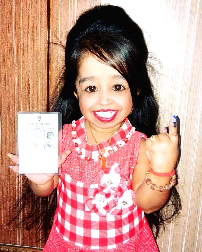 World's tiniest woman, actress and Guinness World Record holder Jyoti Amge