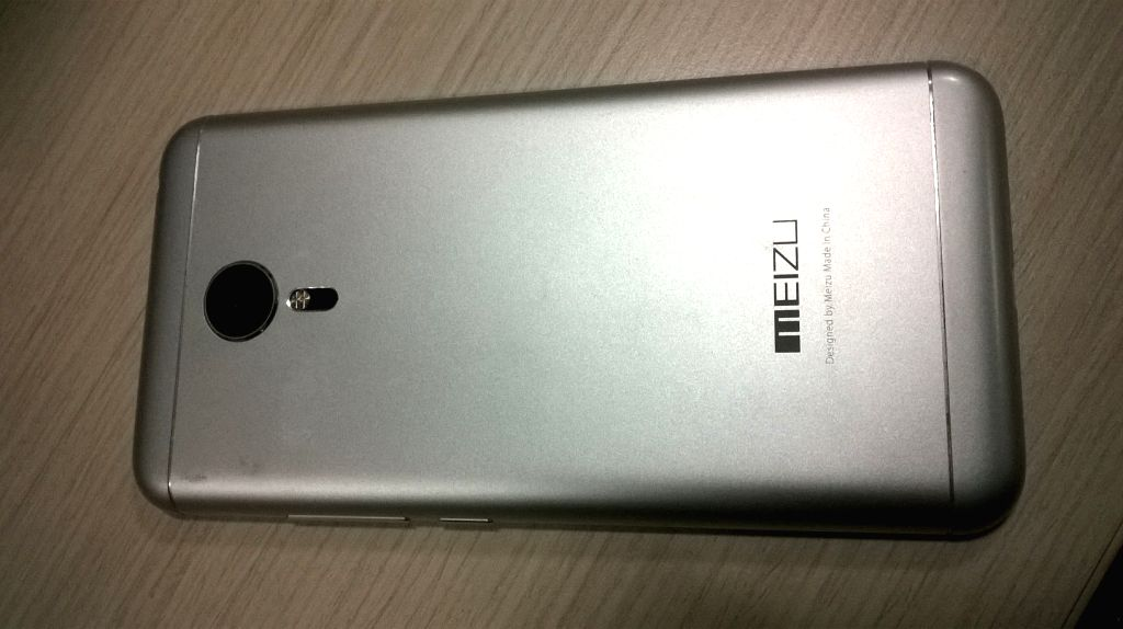 WP_20160110_004: Meizu MX5 offers 20.7-megapixel primary camera and all-metal body (Photo Courtesy: IANS)