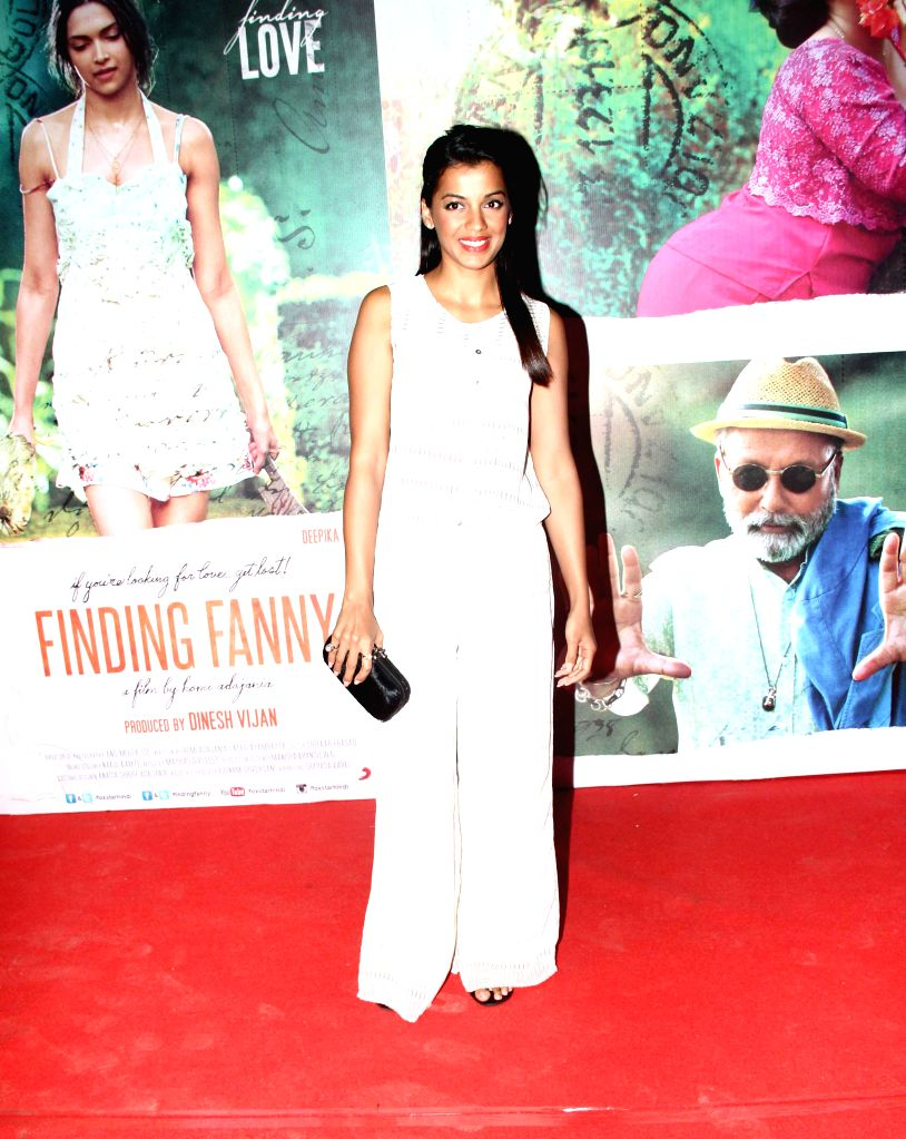 Writer Chetan Bhagat during the film Finding Fanny special screening at Light Box in Mumbai on Sept 10, 2014.