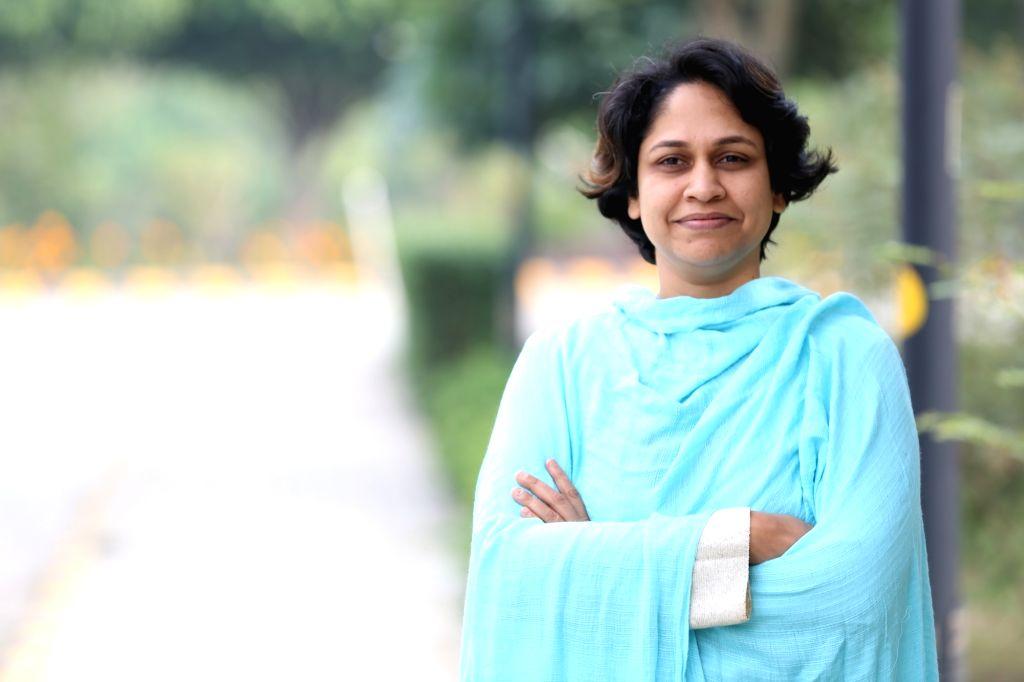 Writer Sameena Dalwai''s book ''Bans & Bargirls: Performing Caste in Mumbai''s Dance Bars''.