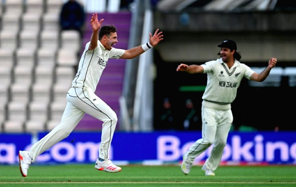 WTC final: India bowled out for 170, NZ need 139 to win(Photo:New Zealand Cricket)