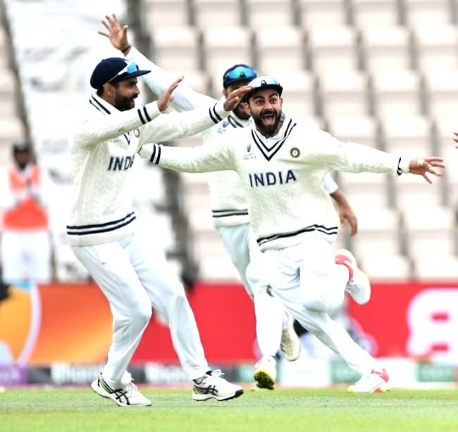 WTC final: New Zealand 135/5 at lunch on Day 5