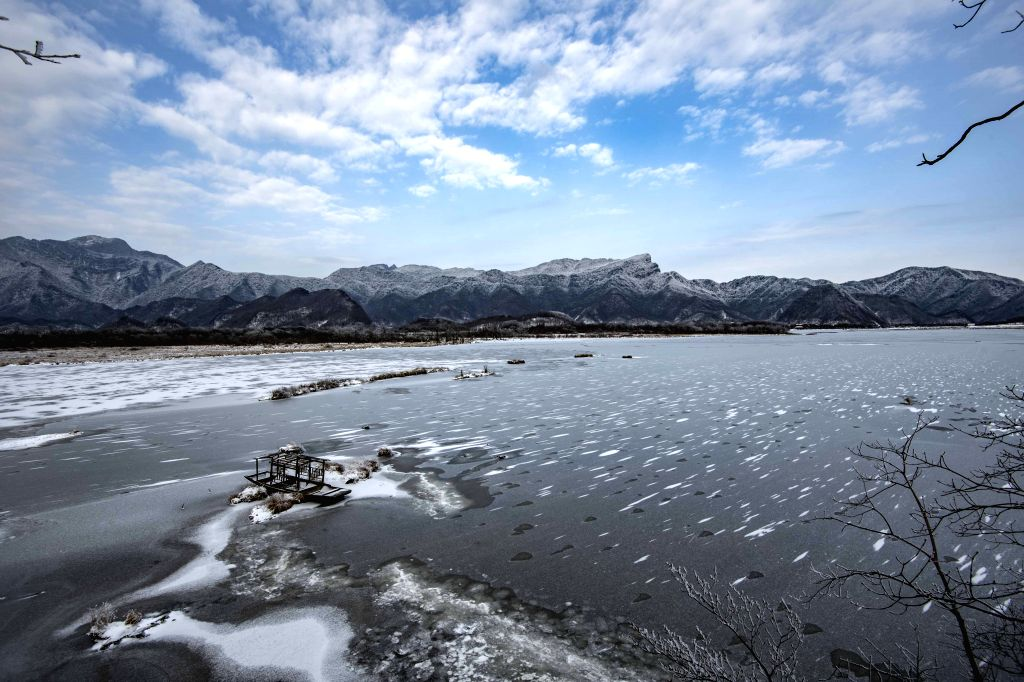 WUHAN, May 14, 2019 - Photo taken on Jan. 12, 2017 shows the winter scenery of the Dajiu Lake in Shennongjia National Park in central China's Hubei Province.