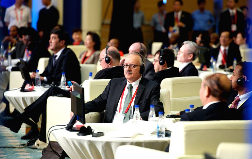 Delegates attend the International Investment Forum 2014 in Xiamen, southeast China's Fujian Province, Sept. 8, 2014.