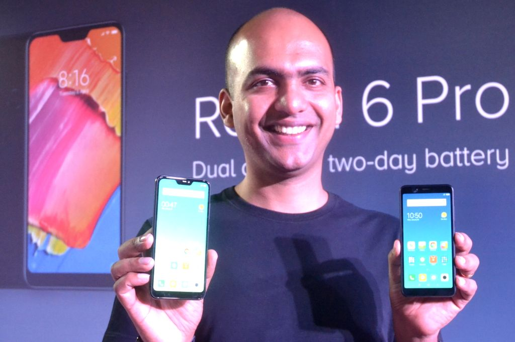 Xiaomi Global VP and Xiaomi India Managing Director Manu Kumar Jain launches Xiaomi Redmi 6 series smartphones - Xiaomi Redmi 6, Redmi 6A and Redmi 6 Pro smartphones, in Bengaluru on Sept ... - Manu Kumar Jain
