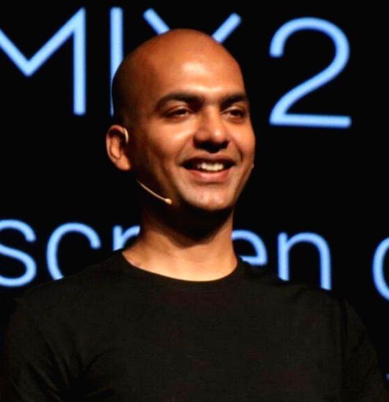 :Xiaomi India Managing Director Manu Jain. (File Photo: IANS).