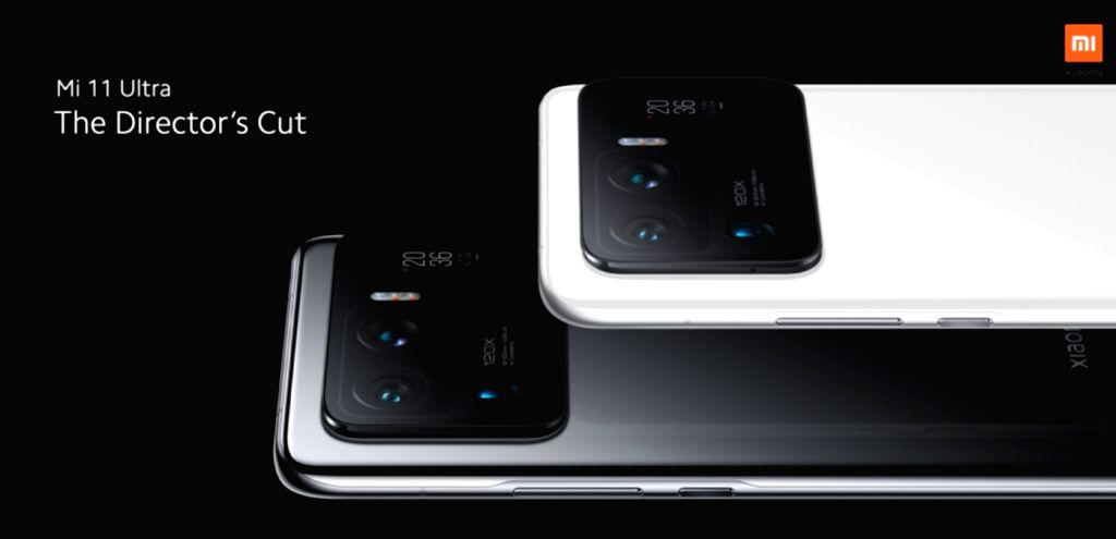 Xiaomi Mi 11 Ultra has a selfie viewfinder at the back