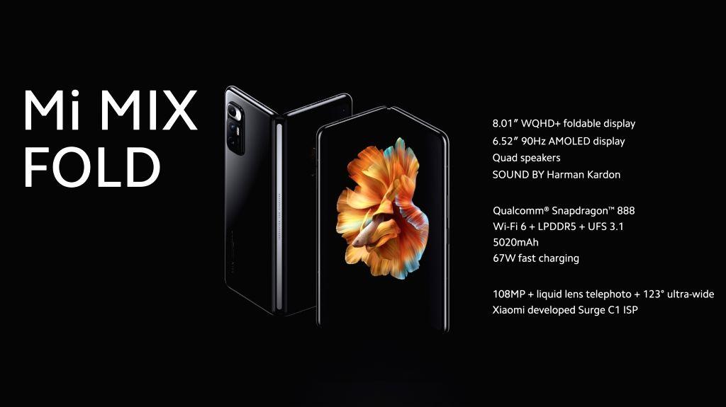 Xiaomi MI Mix Fold
