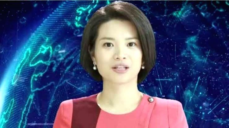 """""""Xin Xiaomeng"""", Xinhua's first female Artificial Intelligence (AI) news presenter."""