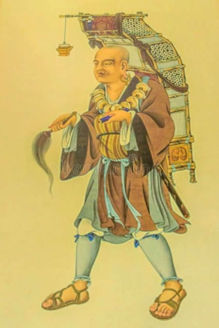 XUANZANG, the great Chinese Scholar and Traveller (602-664 AD) who visited the ancient Kingdom of Maharashtra and lived in present day Mumbai.