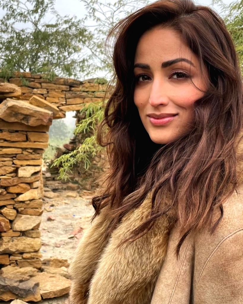 Yami Gautam turns nostalgic on Jaisalmer set of 'Bhoot Police' (Credit: Instagram)