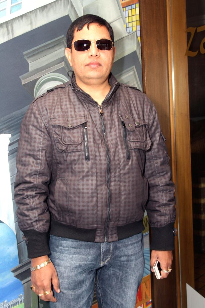 "Yash D Kumar at a press conference for  film ""Aaj Ki Freedom"", at Zaffran, in New Delhi .(Photo:IANS/Amlan) - Yash D Kumar"