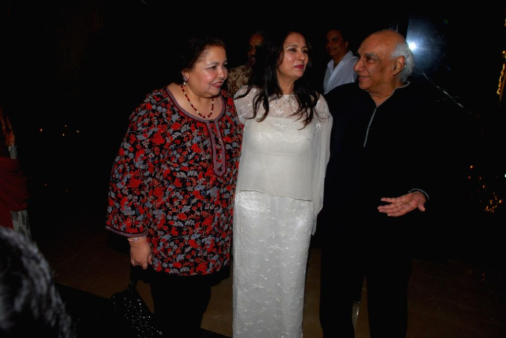 Yash Raj at Poonam Dhillon's birthday bash.