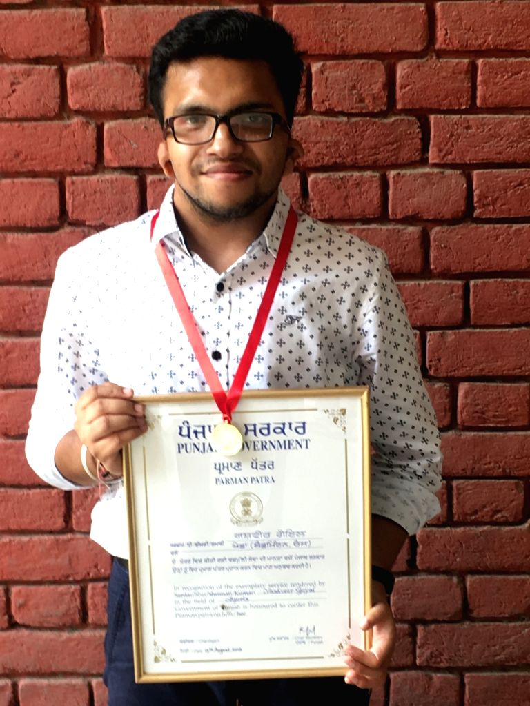 Yashveer Goyal, a hearing and speech impaired youth of Bathinda city in Punjab, has been selected for a national award to be given by President Ram Nath Kovind on December 3 in New Delhi. - Nath Kovind