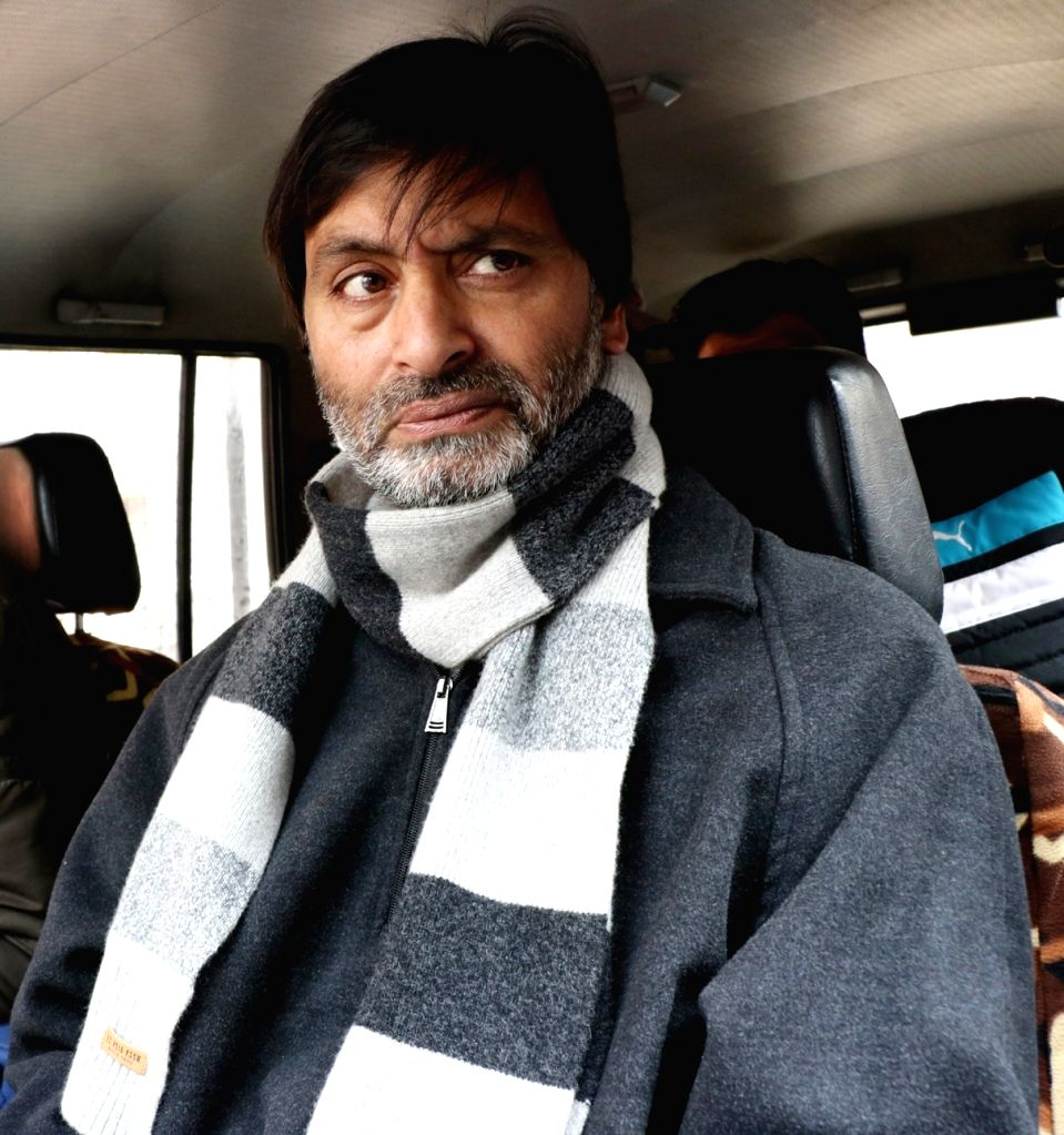 Yasin Malik. (File Photo: IANS) - Malik