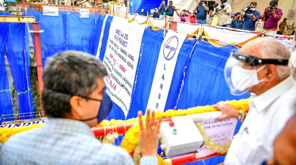 Yediyurappa launches B'luru Metro Phase II tunnelling work