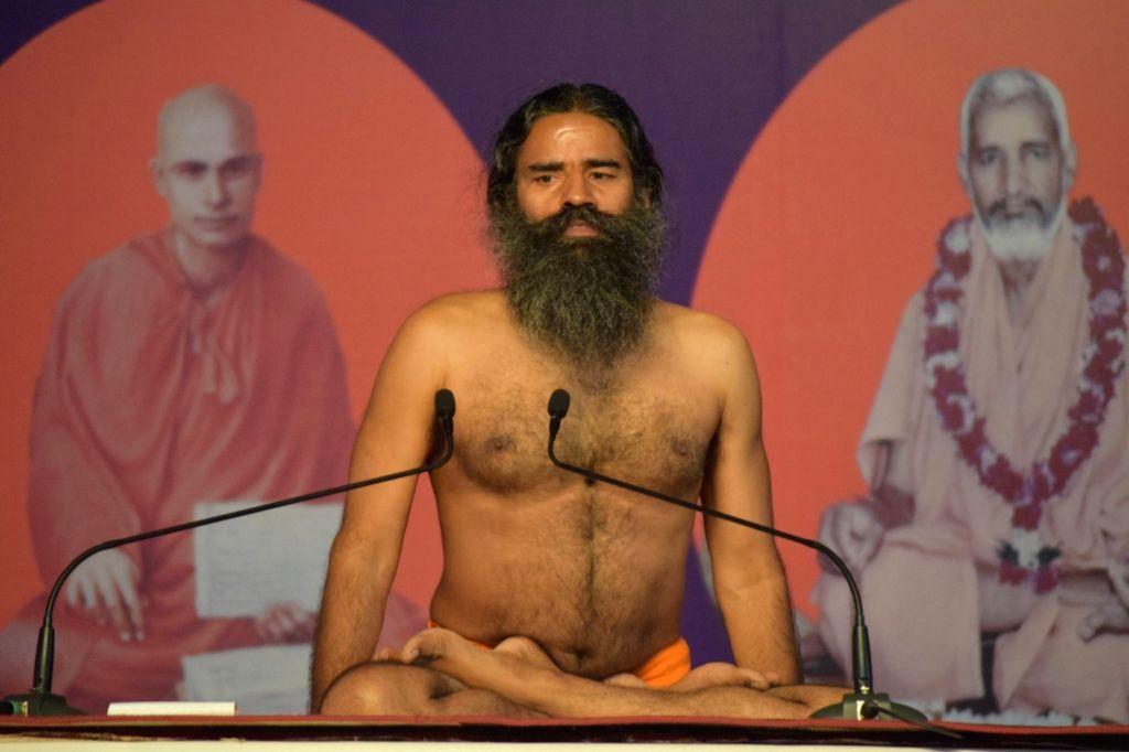 Yoga Guru Baba Ramdev. (File Photo: IANS)