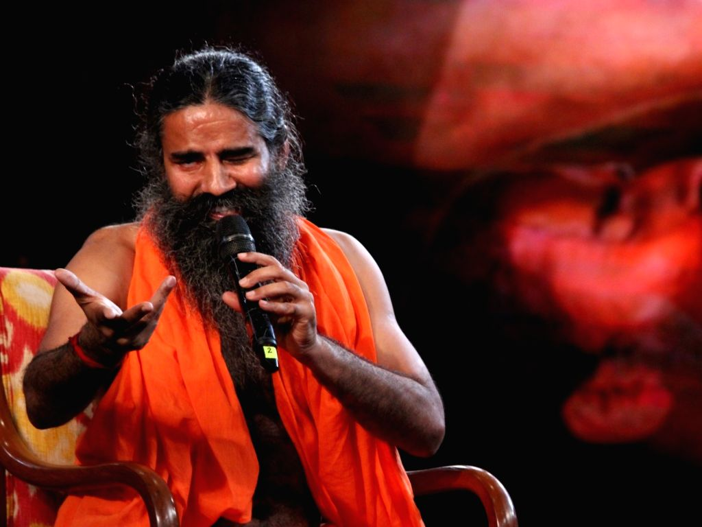 Yoga Guru Baba Ramdev. (Photo: Amlan Paliwal/IANS)