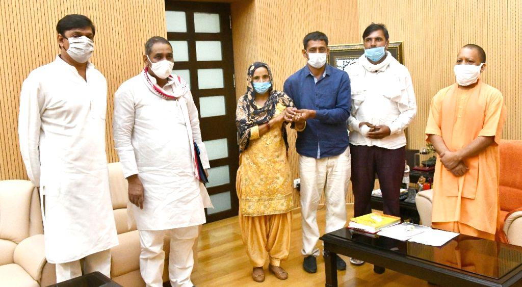 Yogi announces library, memorial for Sudiksha Bhati