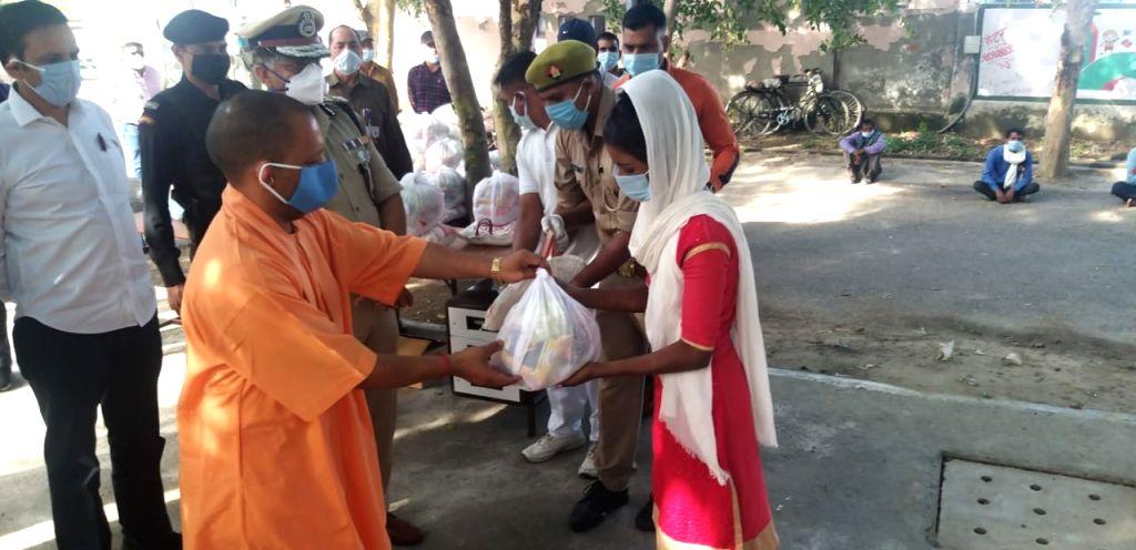 Yogi govt begins distribution of free ration to poor